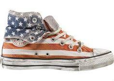 Girls maia: Bandeira dos Estados Unidos!