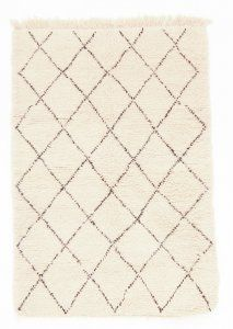 Kelim Marokkanische Berber Teppich Beni Ouarain 170 x 110 cm