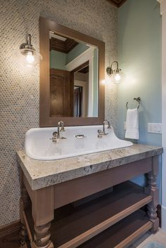 Bathroom Fixtures Utah freestanding tub with wall mounted faucet | mountain land design