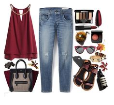 Friday by bamaannie on Polyvore featuring polyvore, fashion, style, rag & bone, Giorgio Armani, NARS Cosmetics, Bobbi Brown Cosmetics, Chanel, Garance Doré, ootd and friday