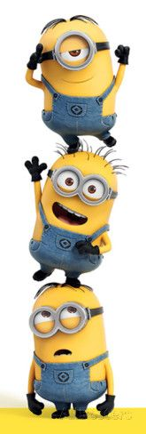 Despicable Me - 3 Minions Posters at AllPosters.com