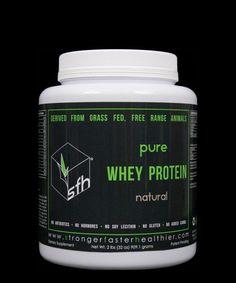 GrassFed Pure Whey Protein Powder on sale @ www.windycitycrossfit.com