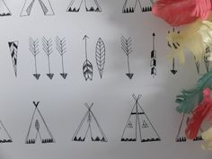 by Ferm Living  'Native' by Ferm Living is a beautifully drawn children's pattern  click here if you wish to order samples  easy paste the wall application pattern repeat 20 in roll 20.5 in wide, 33 ft long coverage 56 sq. ft.