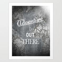 Adventure Art Print by Zach Terrell | Society6