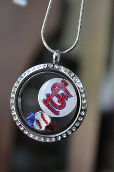 St. Louis Cardinals Discs to add to Lockets by LaDeDaDesignsShop, $8.00