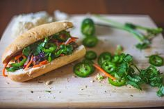Happy Jack Eats: 4 Years. With Pork Meatball Banh Mi and a Gender Reveal.