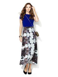 Rebecca Minkoff New Vena Silk Skirt