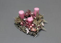 Boże Narodzenie-dekoracje świąteczne-Adwent+świece - Artistic-Decoration - Wieńce adwentowe