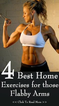 Make-Up Master: 4 Exercises for Flabby Arms