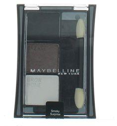 Maybelline Expert Wear Trio Eye shadow Smoky Surprise (2 Pack). Trio Eyeshadows. Smoky Surprise.