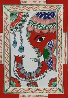 Madhubani Art, Madhubani Painting, Mandala Art Lesson, Mandala Drawing, Indian Art Paintings, Modern Art Paintings, Worli Painting, Indian Folk Art, Africa Art