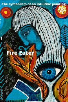 Fire eater: a painting about being brave