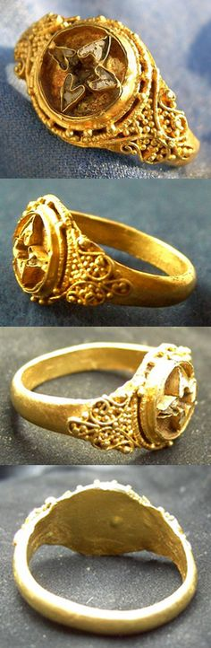 Finger ring, Europe, 9th-11th century.