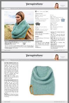 Knitted Cowl Knitted Capelet, Knit Cowl, Knitted Hats, Knit Crochet, Crochet Hats, Patons Classic Wool, Knitting Patterns, Crochet Patterns, Cowl Scarf