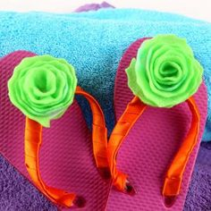 Posies for My Toesies Shoe Embellishment | FaveCrafts.com