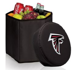 Atlanta Falcons Bongo Cooler Black :http://hometooutdoors.com/shop/sports-outdoors/coolers-ice-chests/cooler-totes/picnic-timeatlanta-falcons-bongo-cooler-black/