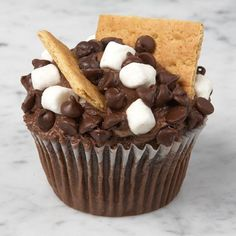 smores cupcakes, say what?!