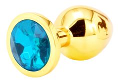 Handsome+Cock+Medium+Turquoise+Jewelled+Gold+Butt+Plug, £12.99