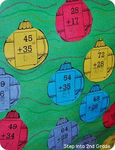 Step into 2nd Grade with Mrs. Lemons: Christmas Tree Math