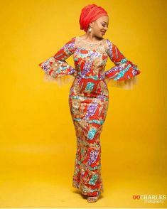 It is your unorthodox to make behind it comes to selecting the perfect Ankara style for your weekend. We desire to stand out with astonishing Ankara fabric designs. If you are in this Ankara fabric designs, we have good stuffs or you to see Long African Dresses, African Print Dress Designs, Aso Ebi Styles, Ankara Fabric, African Fashion, Fabric Design, Designer Dresses, Fashion Outfits, Pretty
