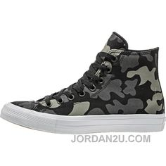 a129571feeb510 Converse Chuck Taylor All Star II Reflective Camo (Mens) - Charcoal 2016  Sale New