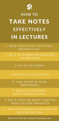 Wondering how you can take good lecture notes? Here are some tips for you to take notes effective in class - including my note-taking system using OneNote!