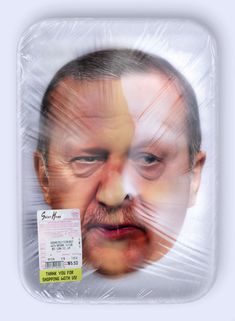 Politarian is a photographic series that draws a bridge between processed meat and world leaders. The manipulated images suggest that people choose a politician the way they would normally choose meat. This project focuses on the aspect of expiry dates. Once a product, or a world leader in that case, exceeds the expiration date, the outcome might be fatal.