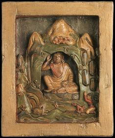 Buddhist Art, Tibet, Enamel, India, Painting, Image, Buddhism, Vitreous Enamel, Goa India