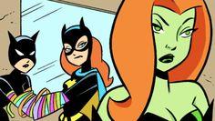 Les filles de gotham : Batgirl,CatWoman et Poison Ivy