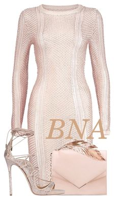 """""""BNA"""" by deborahsauveur ❤ liked on Polyvore featuring Boohoo, RALPH & RUSSO and Dsquared2"""