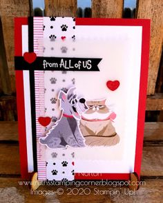 Ruth's Stamping Corner: Pampered Pets-My Pets! Fancy Fold Cards, Folded Cards, Pet Dogs, Pets, Dog Cards, Cat Grooming, Little Dogs, Stamping, Card Stock