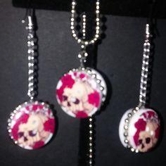 Skull reversible jewelry $5