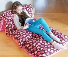12 Frugal Ways to Repurpose Pillowcases : 12 Frugal Ways to Repurpose Pillowcas. : 12 Frugal Ways to Repurpose Pillowcases : 12 Frugal Ways to Repurpose Pillowcases Sewing Pillow Cases, Sewing Pillows, Diy Pillows, Pillow Beds, Kids Sleepover, Faux Roman Shades, Toddler Chair, Kids Stool, Activities For Girls