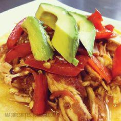 Maggie's Bites - Salsa Chicken Tacos