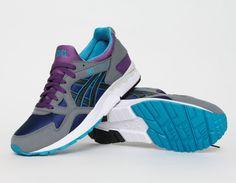 #Asics Gel Lyte V 5 Black Purple #sneakers