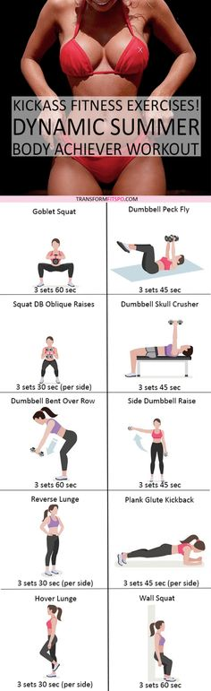 Advanced Workout to Achieve Your Summer Body! Fitness Goals, Yoga Fitness, Fitness Motivation, Health Fitness, Fitness Plan, Summer Fitness, Fitness Diet, Glute Kickbacks, Summer Body