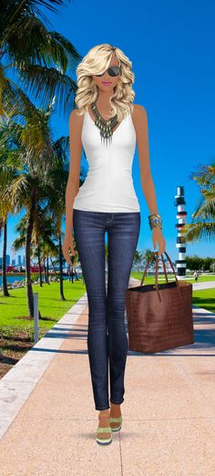 Charlerose-Look styled in Covet Fashion Palm Beach Flair- 4 stars