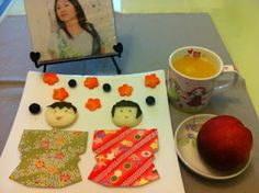 三月三日天氣清,長安水邊多麗人:日本娃娃吐司、柳丁汁、美國甜桃,佐沖繩歌姬夏川里美。今天是日本的女兒節!