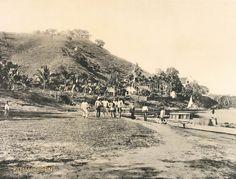 Voormalige plantage Berg en Dal aan de Surinamerivier