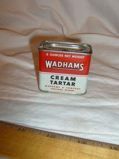 WADHAMS CURRY POWDER COMPOUND SPICE TIN , Portland, Oregon   Vintage #WADHAMSCURRYPOWDER