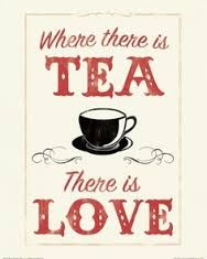 where there is tea there is love canvas art anthony peters 18 x 24 Chai, Halloween Cocktails, Beste Cocktails, Tea Quotes, Coffee Quotes, Quotes About Tea, Food Quotes, Tea And Books, Love Canvas