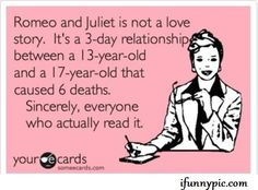 Anyone who thinks this is romantic has never read it (or understands what they read)