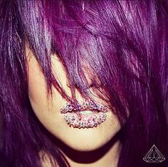 hairbynamrood   HOW TO: GET THIS PURPLE USING ELUMEN by GOLDWELL