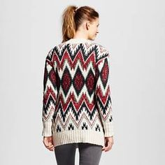 Women's Patterned Cardigan - Mossimo Supply Co.™ (Juniors') : Target