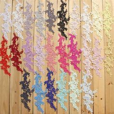 26 Color Guipure Embroidery Lace Applique Motif Floral Patches Applique Sewing on Wedding Bridal Evening Dress Gown Skirt DIY Crafts 1 Pce Bridal Wedding Dresses, Bridal Lace, Wedding Shoes, Embroidered Lace, Lace Applique, Fabric Decor, Lace Fabric, Wedding Motifs, Sewing Lace