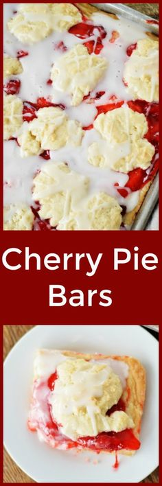 Cherry Pie Bars by A Teaspoon of Home