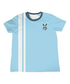 Blue Monogram Bunny Tee - Infant Toddler & Boys