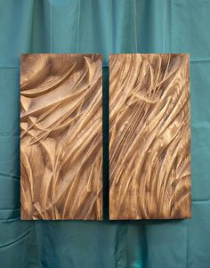 "Wood wall art, home decor, bas-relief sculpture, wood carving ""Tender flow – flowers Rustic Wood Wall Decor, Wood Wall Design, Carved Wood Wall Art, Reclaimed Wood Wall Art, Wall Wood, Wood Sculpture, Wall Sculptures, Oak Wood Stain, Plywood Art"