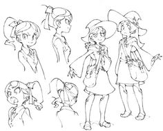 (Source: artbooksNAT)[6/8] Little Witch Academia (リトル ウィッチ アカデミア) Little witches…