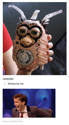 what happens when doctor who fans get hold of a furby